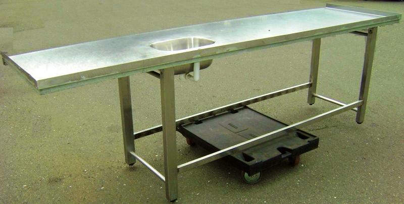 Edelstahl arbeitsplatte mit integrierter spule for Edelstahl kuche gebraucht